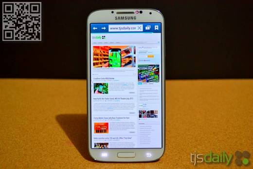 Samsung Galaxy S4 Review Browser