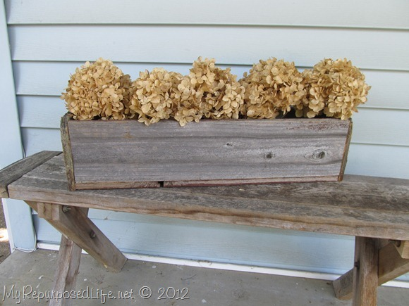 Rustic Flower Box