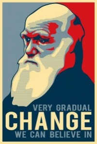 Darwin: Very gradual change we can believe in