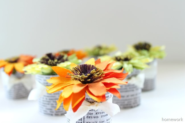 Paper Flower Favors 4