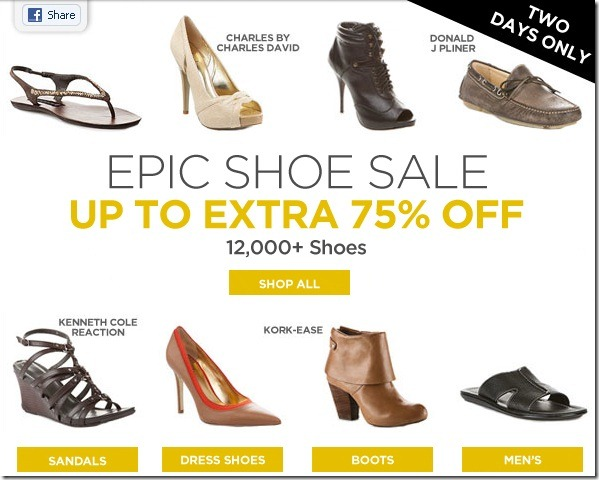 75% off zapatos smartbargains