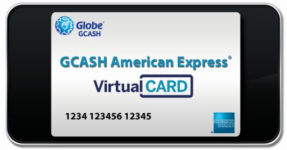 how to sign up for globe gcash american express virtual credit card