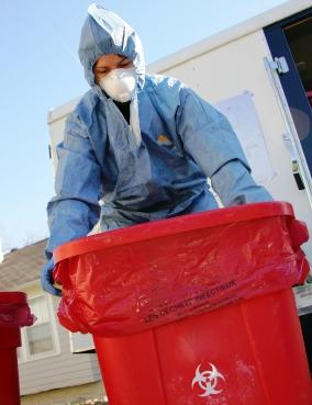medical waste photo