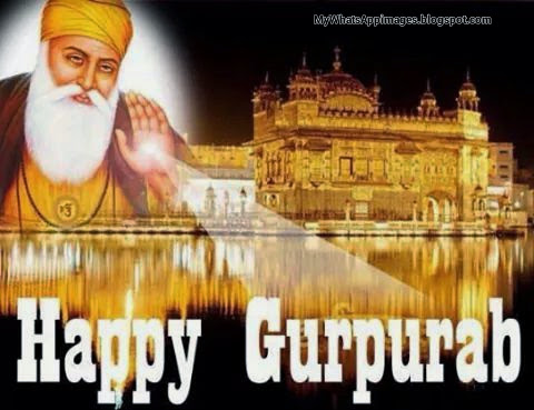 Happy Gurupurab Shri Guru Nanak Dev Ji Whatsapp Images