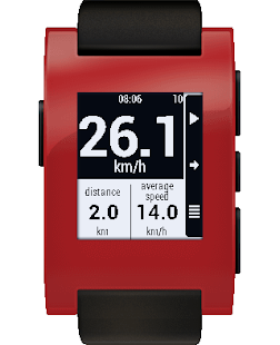 JayPS for Pebble - Bike GPS – Miniaturansicht des Screenshots