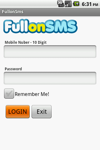 FullonSms - Send SMS for FREE! - screenshot