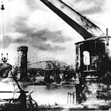 Ladekran und Brücke Berlin nach 1945