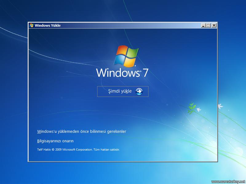 Windows 7 Sp1 Türkçe Tüm Sürümler Tek DVD 2017