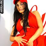 Andrea Rincon, Selena Spice Galeria 55 : Vestido Rojo y Tanga Roja – AndreaRincon.com Foto 22