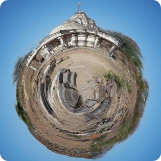 Temple on a Planet