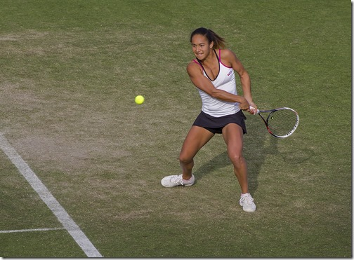 HEATHER WATSON - EYES ON THE BALL by Neville Marsh 3rd  place Div 1