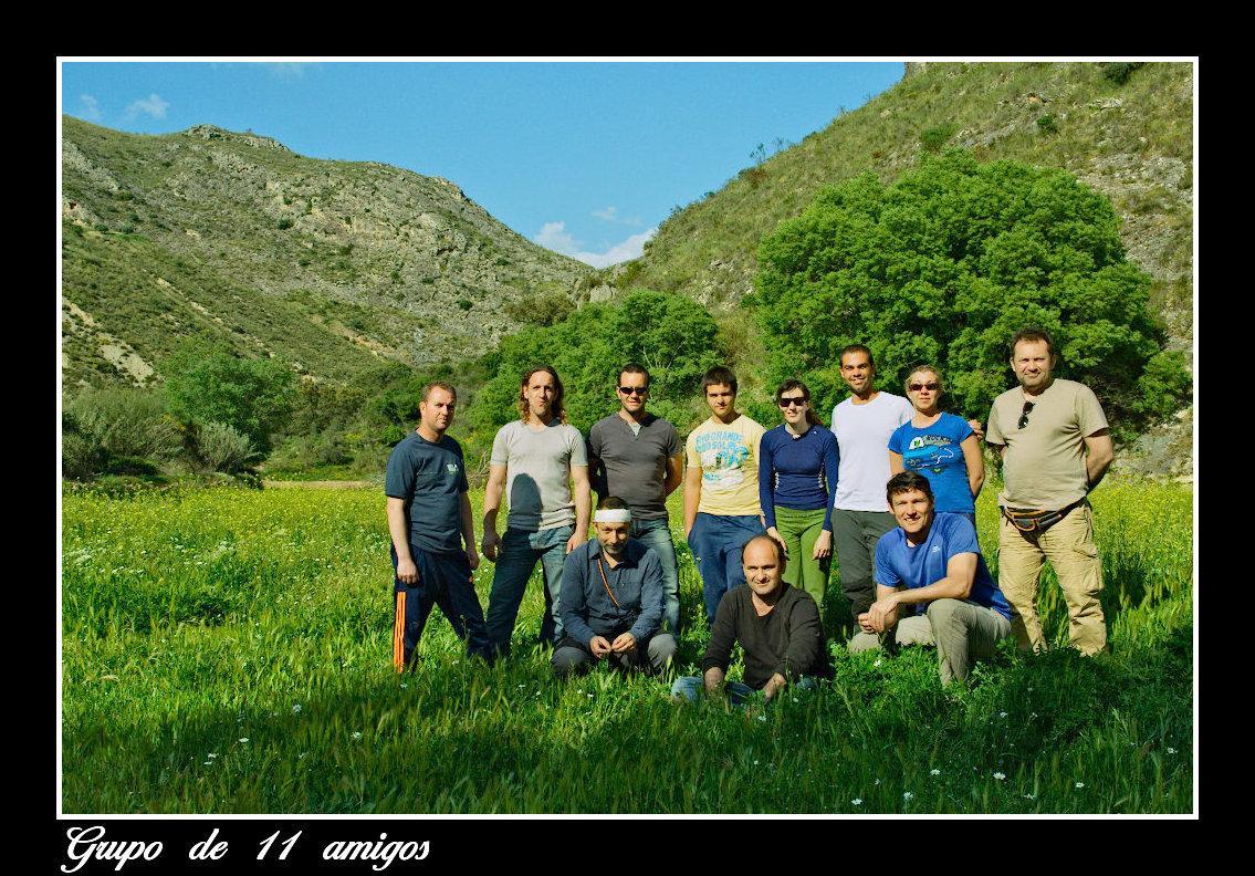 Grupo de 11 amigos