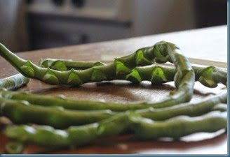 Green beans WED