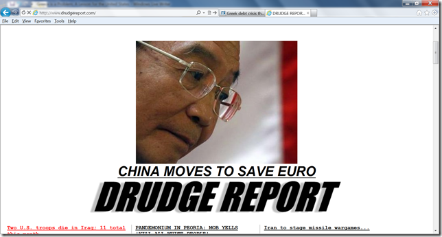 China moves to save euro