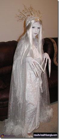 white ghost halloween costume