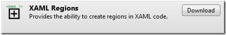Xaml Regions