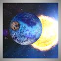 Orbit Space 3D Live Wallpaper icon