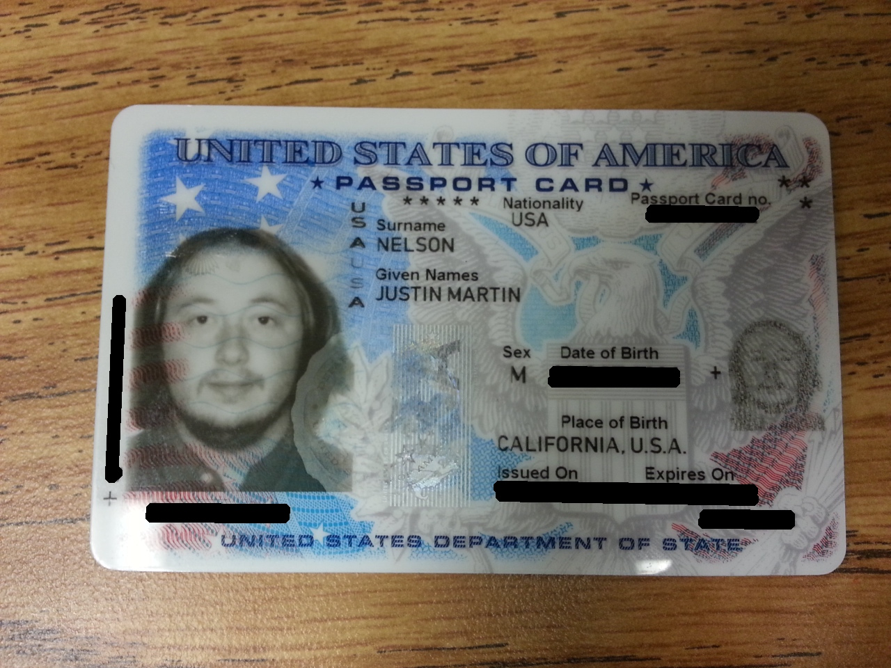 Riding in riverside could i see your drivers license this is my passport card its only valid for land and sea travel to the us nearest neighbors trips that i cant say i take very often but its also a ccuart Images