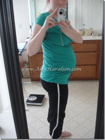Large Maternity Shirt Ruched Side Shirt8