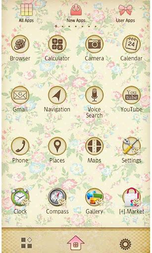 Wallpaper Theme Petit Floral 1.6 Windows u7528 3