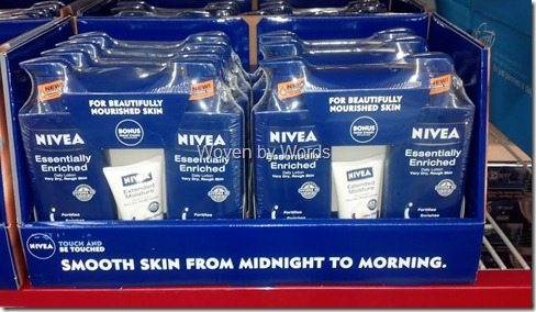 NIVEA Sam's Club lotion