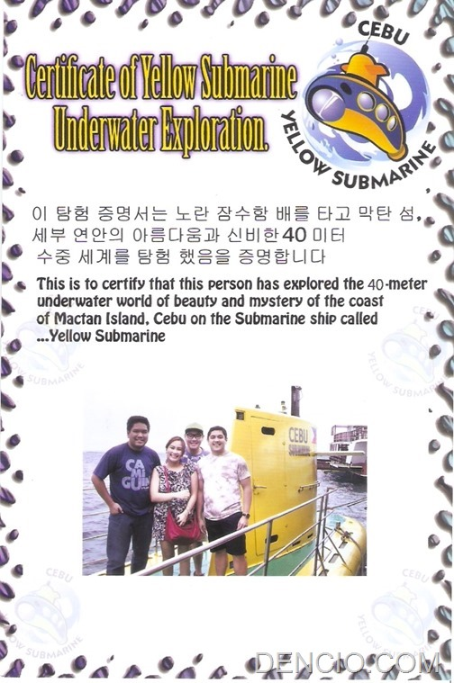 Cebu Yellow Submarine 07