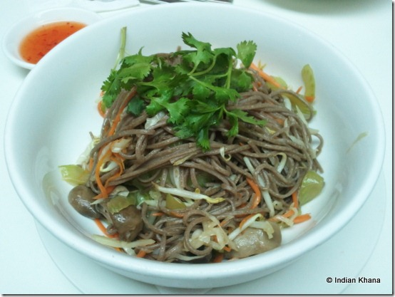 Secret Recipe Review soba noodles