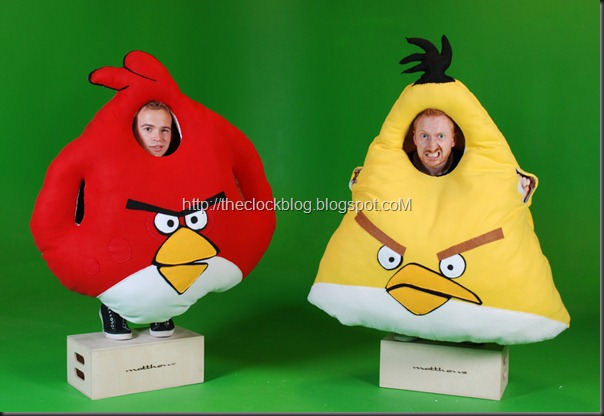 Angry Birds Costume 4