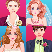 Brides and Grooms - dress up