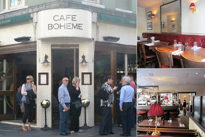 View Cafe Boheme