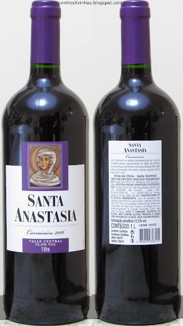 Santa Anastasia Carménère