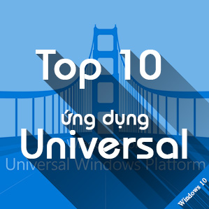 Top ứng dụng Universal Windows Platform cho Windows 10 Mobile