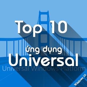 Top ứng dụng Universal mà bạn nên có trên Windows 10 Mobile