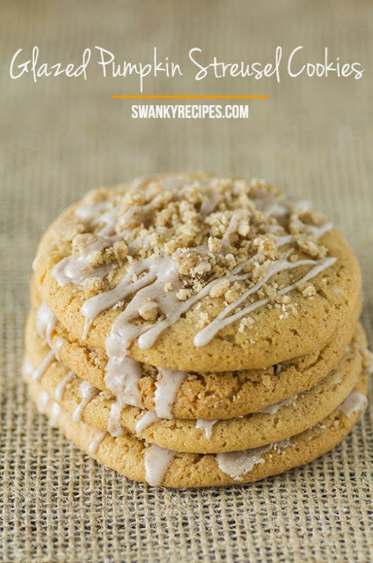 Glazed-Pumpkin-Streusel-Cookies