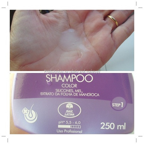 Shampoo Honey Color Raiz Latina