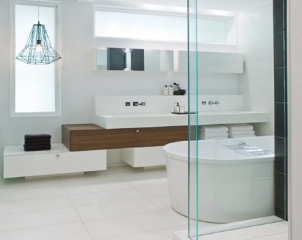 baño-estilo-contemporano-Townhouse