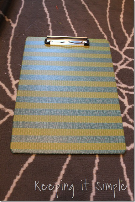 washi tape clip board (4)