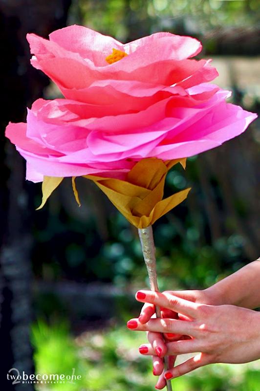 Manualidades de Flores de Papel