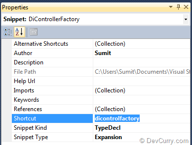 define-snippet-shortcut