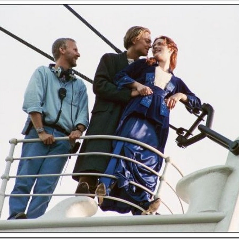 Nos bastidores do Titanic