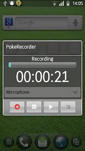 PokeRecorder - Voice Recorder - screenshot thumbnail