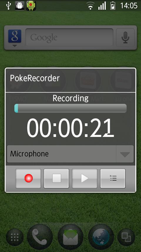 PokeRecorder - Voice Recorder - screenshot
