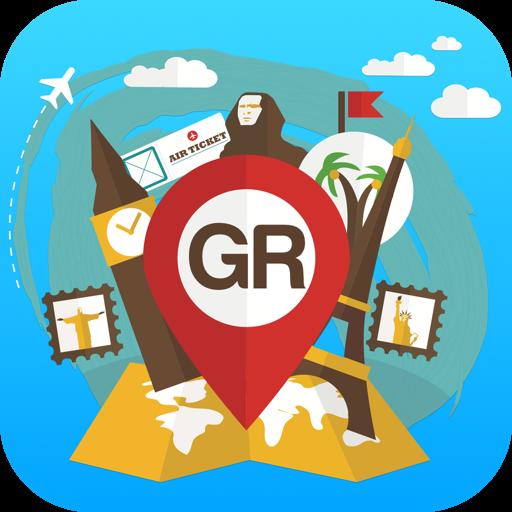 Greece travel guide map offlin