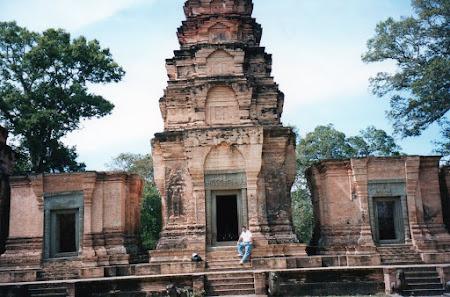 Obiective turistice Cambogia: templu angkor wat