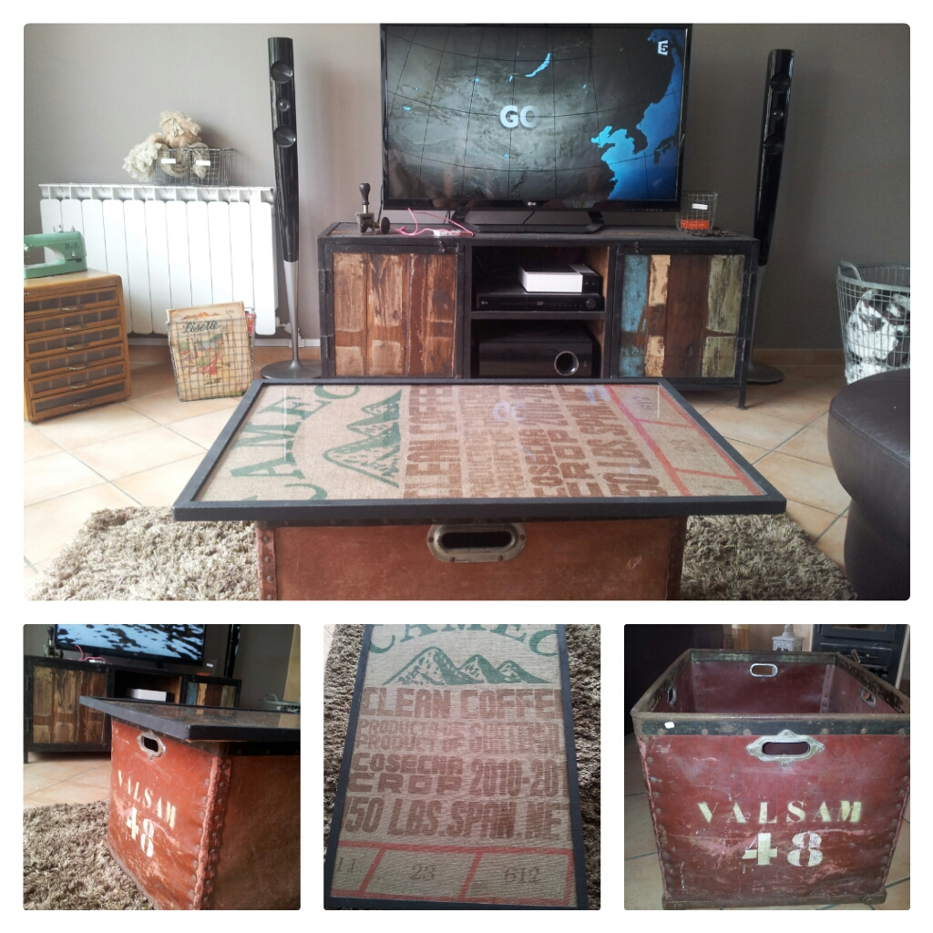 vihjarnfactory une table basse recup 39 4. Black Bedroom Furniture Sets. Home Design Ideas