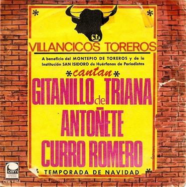 Villancicos toreros (portada)