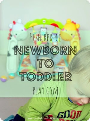 fisherprice newborn to toddler baby gym review