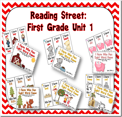 Oceans of First Grade Fun: Word Study Games