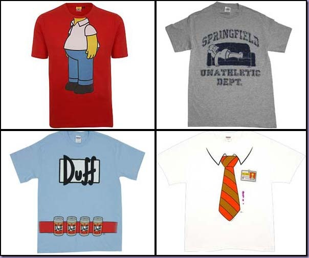 Camisetas-T-Shirt-Homer-Simpson-Duffman-Divertidas
