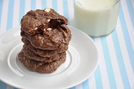 chocolate brownie cookies 150